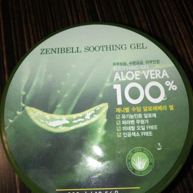 Zenibell 100% Aloe Vera Soothing Gel