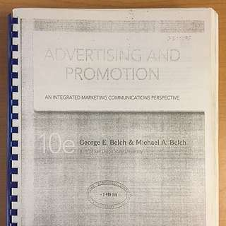 Belch & Belch 10e Advertising And Promotion