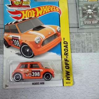 Hotwheels 2 Unit Morris Mini
