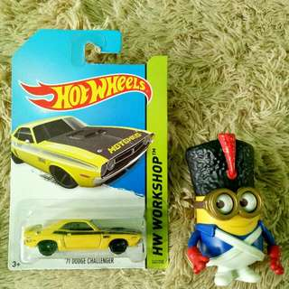 Hotwheels Dodge Challanger
