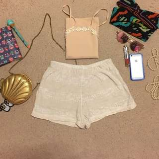 Woodleigh Crocheted Shorts
