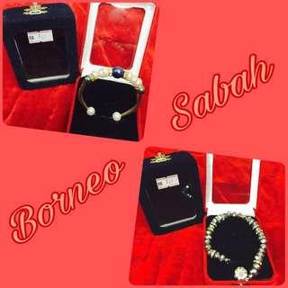 Sabah Bracelets & Necklace
