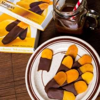 🚚 🤤菲律賓巧克力-cebu宿霧芒果乾-cocoa Monster Manila