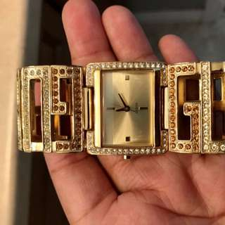 GOLD GUESS WATCHES!