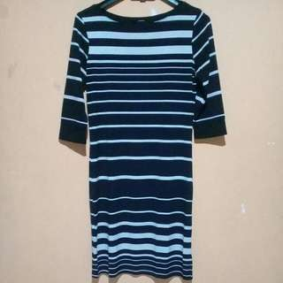 Midi Dress Stripe