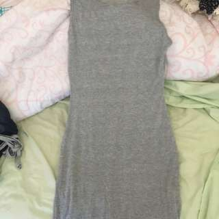 Gray Boohoo Dress