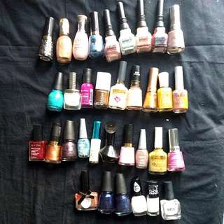 Assorted Nail Polish Lot