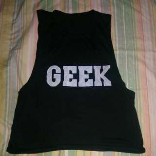 GEEK Muscle Shirt