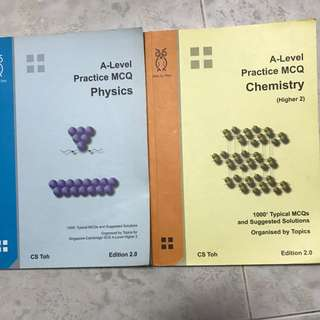 A Level Practice MCQ Physics And chemistry Step By Step