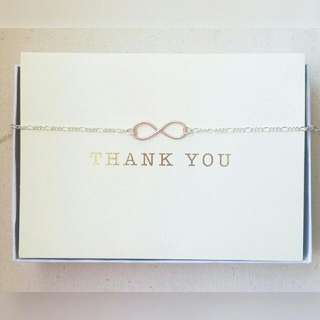 Two Tone Infinity Necklace Or Bracelet