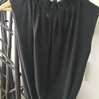 Missoni Black Cashmere Sleeveless Sweater