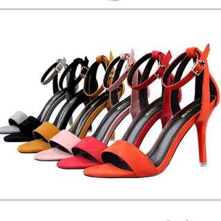 一字帶高跟鞋