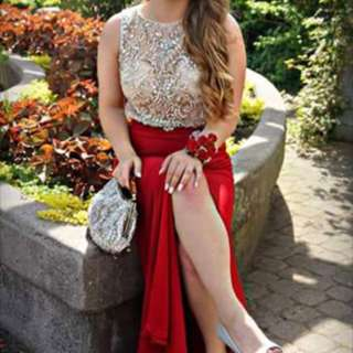 Red Prom Dress * PRICE DROP
