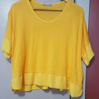Loose yellow top