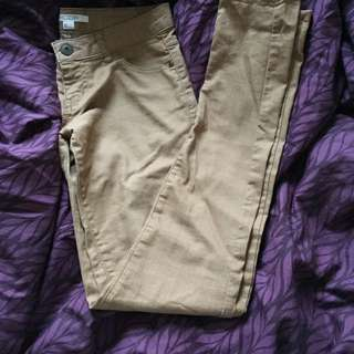 Tan Coloured Pants