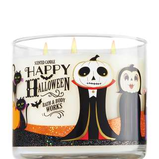 Bath and Body Works Happy Halloween 3-Wick Candle