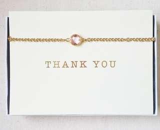 Mother's Day Pink Gemstone Necklace/Bracelet