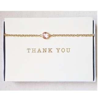 Pink Gemstone Necklace/Bracelet