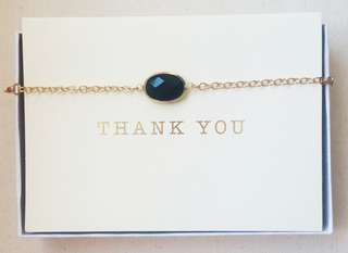 Black Gemstone Necklace/Bracelet