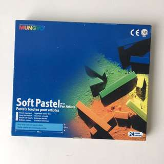 Soft Pastels For Artists 24 Colours