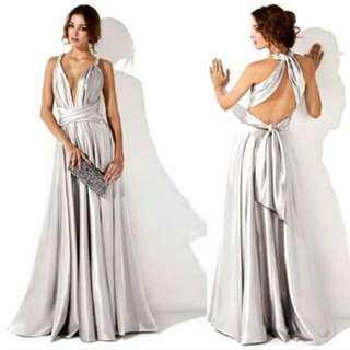 Silver MULTI-WAY dress