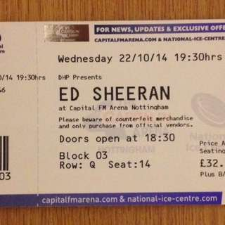 LOOKING FOR ED SHEERAN CAT 2, 3 OR 4 TICKETS
