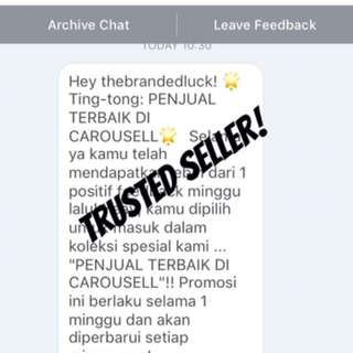 TRUSTED SELLER THIS WEEK (again)!!