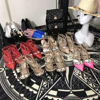 賣翻 鉚釘高跟鞋