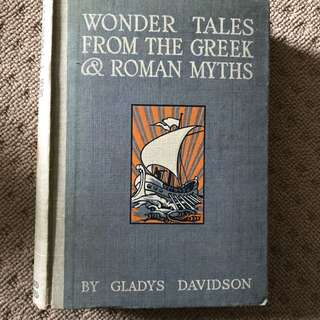 Wonder Tales From The Greek & Roman Myths