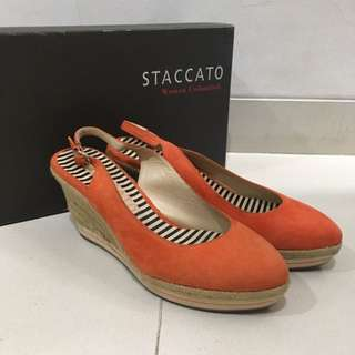Staccato Pumps With Slingback