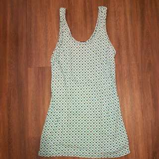 Tank Top With Hearts Design