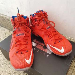 Lebron XII Independence Day Of USA Edition