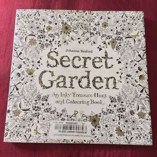 REDUCED PRICE Secret Garden Adult Coloring Book