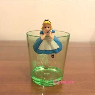 迪士尼 愛麗絲 夢遊仙境 早期杯緣子 杯緣 單售 愛麗絲 翹腳