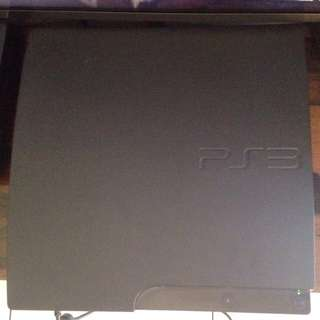 PLAYSTATION 3 SLIM (500gb) with Games & Controllers
