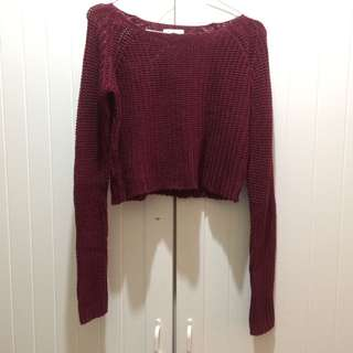 Colorbox Sweater Crop