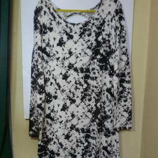 INSIGHT Marble Long Dress