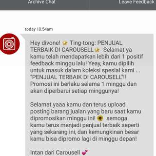 Thank You Carousell 🙆