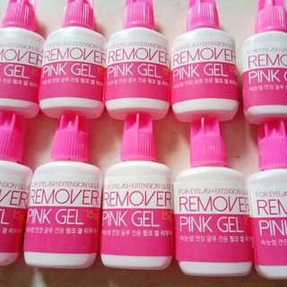 Remover Pink Gel For Eyelash Extension
