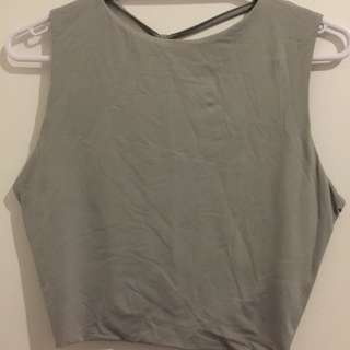 Kookai Grey Top Size 1