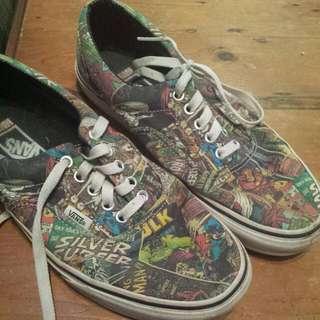 Superhero Vans