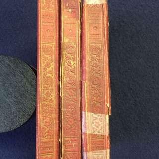 Three Very Old Books