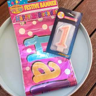 1st B'day Party Kits