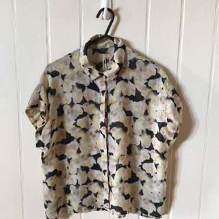 Topshop Button Up