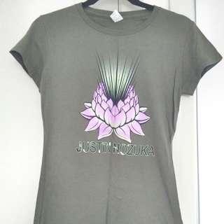 Justin Nozuka T-shirt M S