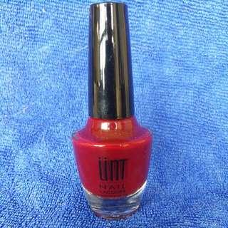 🚚 UNT 紅色指甲油