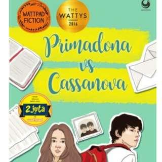 Ebook Novel Primadona VS Cassanova By Alicia Angelina