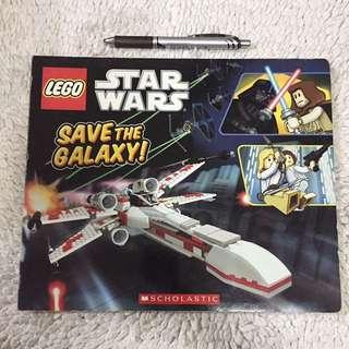 Lego Star Wars Save The Galaxy! Board Book