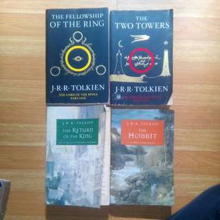 The Lord Of The Rings Trilogy And The Hobbit