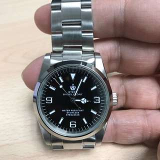 Steel bagelsport Automatic Watch